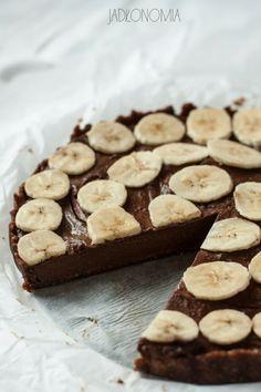 jadłonomia • roślinne przepisy: Nietłusty Czwartek - bezglutenowa tarta czekoladowa