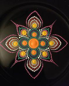 Work in progress....... #dot #dotworktattoo #boston #mandala #mandalas #mandalaart #arts #painting #art #handmade #wellness #decor #homedecor #paintings #dotmandala #artstagram #instaart #instaartist #acrylicpainting #acrylics #handmadeart #meditation #peace #crafts #craft #colors #color #beautifulhomes #home #pointillism