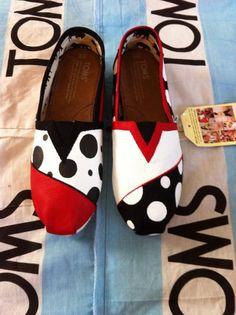 Custom+Hand+Painted+Toms+by+BekasBargains+on+Etsy,+$115.00