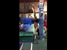 Whether is a horizontal cast, a kip cast connection, or a cast to handstand, the drills in this post should help you out! We spent some time compiling all the Gymnastics Lessons, Gymnastics Coaching, Gymnastics Training, Gymnastics Workout, Back Handspring Drills, Gymnastics Conditioning, Tumbling Gymnastics, Staff Training, Exercise For Kids
