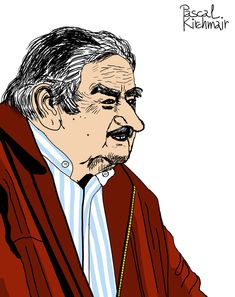 """""""Poor people are those who only work to try to keep an expensive lifestyle and always want more and more. """"-Jose Mujica Portraits, Lifestyle, People, Head Shots, Portrait Photography, People Illustration, Folk, Portrait Paintings, Headshot Photography"""