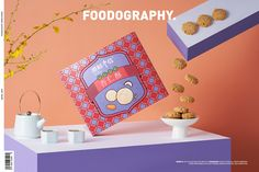 Food and drink | 渔村手信 ✖ foodography on Behance Chinese New Year Design, Food And Drink, Drinks, Creative, Behance, Packaging, Bright, Drinking, Beverages