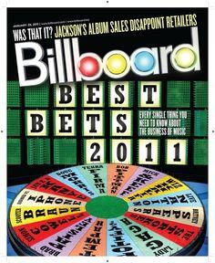 Billboard, January 29, 2011  Design Director: Andrew Horton  Illustration: Joe Zeff Design  #SPDcoveroftheday