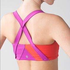 NWT Lululemon Kanto catch me bra When we are sweating it all out, the last thing we want to worry about is having to adjust our gear. This bra was designed with supportive elastic straps and a simple construction so the only thing on our minds is pushing through that final set.  Luxtreme® fabric is sweat-wicking and four-way stretch added LYCRA® fibre for great shape retention this bra is intended to provide medium support Mesh fabric strategically placed in high-sweat areas to let you blow…