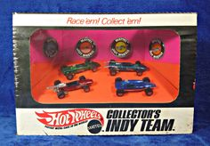 SEALED Hot Wheels Redline Collector's Indy Team Set 6447