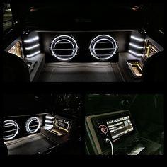 Finished today mitsubishi galant daily use car audio installation trunk
