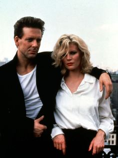 NINE WEEKS This film veers into the erotic side of romance with sex games, the famous fridge scene, and more kinkiness. (Starring: Kim Basinger and Mickey Rourke; Romantic Movies, Most Romantic, Love Movie, Movie Tv, Mickey Rourke, Kim Basinger, The Beauty Department, Hollywood Icons, Sex And Love
