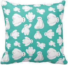 Big Hero 6 Green Baymax Pillow