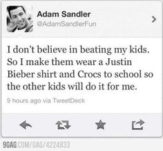 Adam Sandler Knows Parenting
