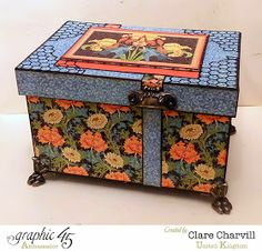 This N' That Box 1 designed and altered by Clare Charvill Artisan Style Graphic 45