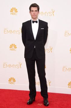 John Mulaney at the 66th Annual Primetime Emmy Awards | grooming by Lauren Kaye Cohen
