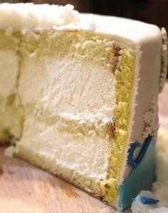 White chocolate cake filling recipe