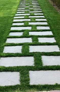 walkway, don't like the pattern but super cute anyway in a back yard