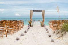 Rustic style - beautiful Spanish Main Beach, Grand Bahama Island | Photo By Lyndah Wells Photography