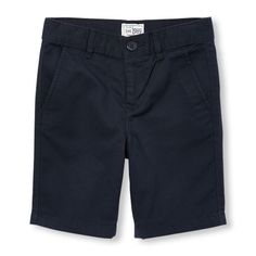 Boys Boys Woven Shorts - Blue - The Children's Place