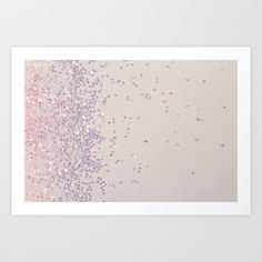 Glitter Is My Favorite Color Art Print by Galaxy Eyes | Society6