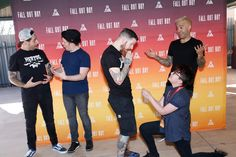 1079 best fall out boy images on pinterest in 2018 bands music andy has the perfect reaction face look at awkward pete just like hello remember me find this pin and more on fall out boy m4hsunfo