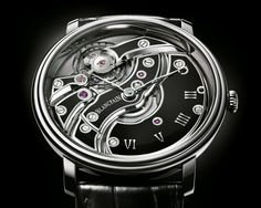 BLANCPAIN VILLERET, Inverted Movement with black ceramics, hand-winding