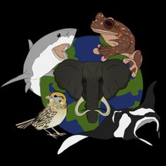 """Our Wildlife Awareness virtual race was inspired by the movement to save our wildlife and the movie """"Racing Extinction"""" by Discovery."""