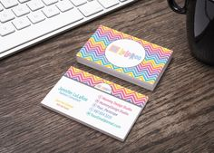 LuLaRoe Business Card - White Background - Chevron Pattern - LLR Home Office Compliant -HO Approved Fonts Colors - Customizable by MommyDesignStudio on Etsy https://www.etsy.com/listing/487025256/lularoe-business-card-white-background