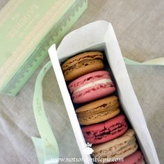 Not So Humble Pie: Macarons