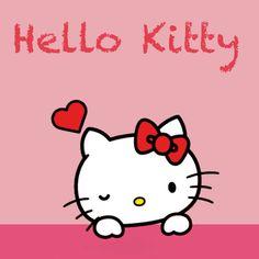 Hello Kitty Tumblr, Hello Kitty My Melody, Sanrio Hello Kitty, Hello Kitty Drawing, Hello Kitty Imagenes, Hug Gif, Hello Kitty Wallpaper, Heart Wallpaper, Hello Kitty Pictures