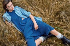 visual optimism; fashion editorials, shows, campaigns & more!: lag på lag: johanne schmidt by mariya pepelanova for eurowoman january 2015