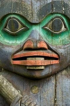 Classic Tlingit face