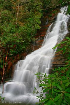 red fork falls erwin tn | Red Fork Falls in Unicoi Co, Tennessee