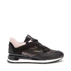Buy Shahira women's trainers in black. Shop Geox. Free and easy returns!