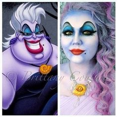 Ursula Halloween Idea