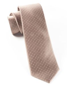 MINI DOTS - CHAMPAGNE | Ties, Bow Ties, and Pocket Squares | The Tie Bar