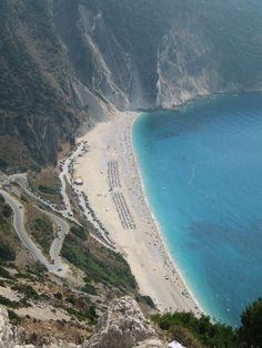 Myrtos Beach - Kefalonia - Greece - hashtag#Finnmatkat