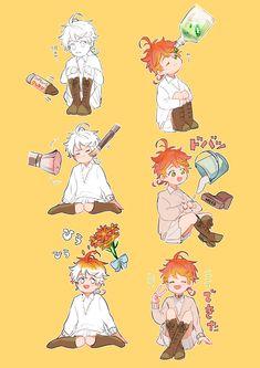 Doujinshi the promised neverland - 12 - Страница 2 - Wattpad Otaku Anime, Manga Anime, Anime Art, Arte Do Kawaii, Anime Kawaii, Fanarts Anime, Anime Characters, Ecchi, Fan Art