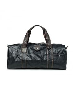 Large Waterproof Pu Leather Travel Weekend Gym Bag for Men - black -  CN185X6C9U3 8969861ac7a2d