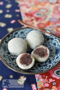 easy daifuku sweet mochi