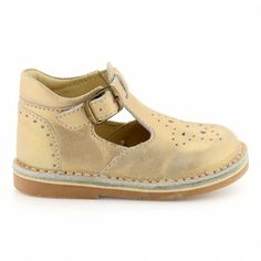 Soldes - Chaussures à boucle Cuir taupe pour Bébé : Chaussures à boucle André Collection Exclusive - 13,00€