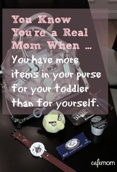 """Repin if this looks familiar ... (click for more """"real mom"""" signals!)"""