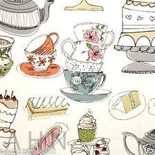 PRESTIGIOUS TEXTILES 100% COTTON CURTAIN FABRIC AFTERNOON TEA Candy p/m Cotton Curtains, Curtain Fabric, Prestigious Textiles, Afternoon Tea, Card Ideas, Cards, Drawings, Maps