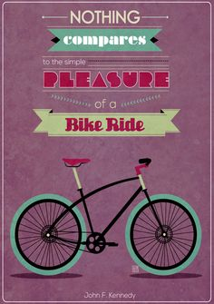 Bike Quotes by Shawny Walthaw, via Behance
