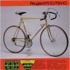 Gold Peugeot PS 10
