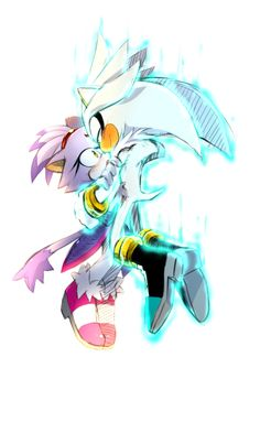 Blaze and Silver.