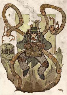 Steampunk Dr. Octopus