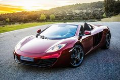 2013 McClaren Mp4-12C Spider = Broke Forever and totally worth it.