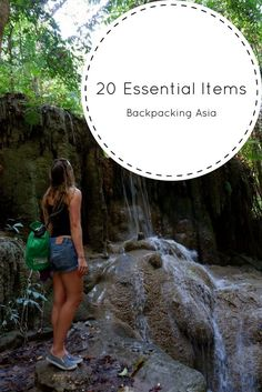 Backpacking Thailand, South East Asia, packing list, what to pack, wear, need, essential items for #travel #backpack #thailand #laos #cambodia #myanmar #vietnam #malaysia #indonesia #philippines products items #travelling essentials #whats in my rucksack backpacker #tips hacks bags what to bring practical #travelblog traveltips bangkok chiang mai phuket krabi ko phiphi