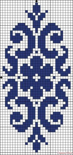You can actually take a photograph of your design and transform the design through software into a cross-stitch design where you can use it. Cross Stitch Borders, Cross Stitch Designs, Cross Stitching, Cross Stitch Embroidery, Cross Stitch Patterns, Bead Loom Patterns, Weaving Patterns, Knitting Charts, Knitting Patterns