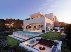 #luxury #moder #villa #forsale #estepona #spain #private #pool #graden