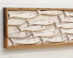 Minnow Fish School Set of Five Fishes Smelt Sardines Guppies Fish Decor Wooden Fish School Crab Decor, Fish Wall Decor, Nautical Wall Decor, Fish Wall Art, Wooden Wall Decor, Fish Art, Coastal Decor, Nautical Art, Metal Wall Art
