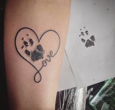 Dog Paw Prints Make The Most Pawesome Tattoos Ever, And Here's The Proof (10+ Pics) #DogPaw