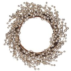Silver wreath from The Contemporary Home   All rooms   PHOTO GALLERY   Country Homes and Interiors   Housetohome.co.uk